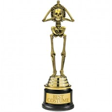 Halloween Best Costume Skeleton Trophie