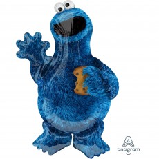Sesame Street SuperShape Cookie Monster Shaped Balloon 58cm x 88cm