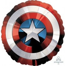 Avengers Jumbo Shape HX  Shield Foil Balloon