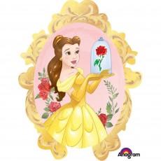 Beauty & the Beast Mirror Frame Foil Balloon