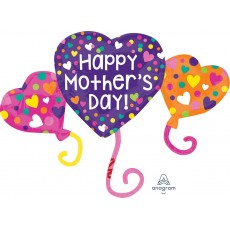 Mother's Day SuperShape XL Trio Shaped Balloon