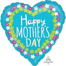 Mother's Day Standard HX Flower Frame Shaped Balloon