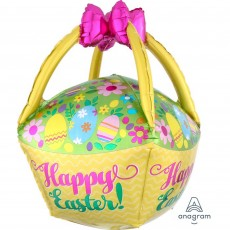 Easter Egg Basket Shaped Balloon