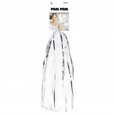 White Party Supplies - Pom Pom Mixes
