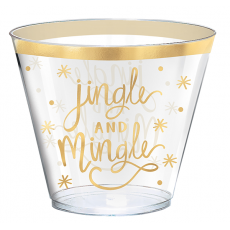 Christmas Tumblers Plastic Cups