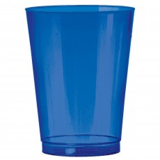Bright Royal Blue Tumbler Big Party Plastic Cups 295ml Pack of 72