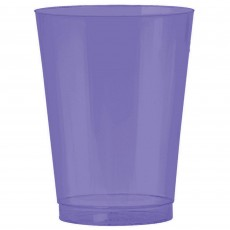 New Purple Big Party Tumbler Plastic Glasses 295ml Pack of 72