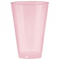 New Pink Big Party Tumbler Plastic Glasses 295ml Pack of 72