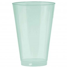 Robin's Egg Blue Tumbler Big Party Plastic Cups 295ml Pack of 72
