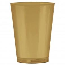 Gold Tumblers Plastic Cups