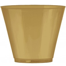 Gold Big Party Pack Tumbler Plastic Cups