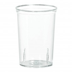 Clear Big Party Shooters Plastic Glasses Pack of 20