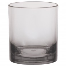Clear Party Supplies - Plastic Glass Premium Ombre Double Tumbler