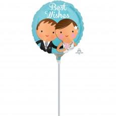 Wedding Couple Foil Balloon