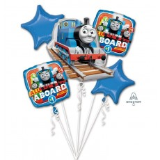 Thomas & Friends All Aboard Bouquet Foil Balloons Pack of 5