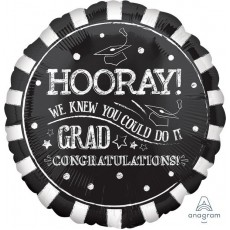 Graduation Standard HX Foil Balloon
