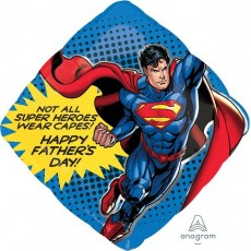 Father's Day SuperShape Superman Shaped Balloon