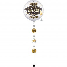 Graduation Jumbo Holographic Shaped Balloon