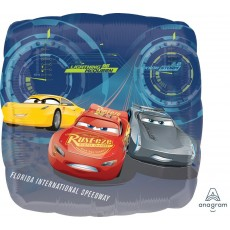 Disney Cars 3 Standard HX Lightning Foil Balloon
