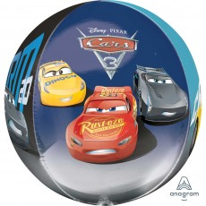 Disney Cars 3 Shaped Balloon