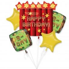 Minecraft TNT Bouquet Foil Balloons Pack of 5