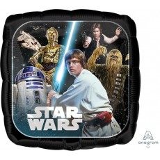 Star Wars Party Decorations - Square Shaped Balloon Classic