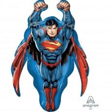 Superman SuperShape Shaped Balloon