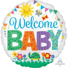 Baby Shower - General Standard HX Cute Icons Foil Balloon
