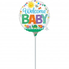 Baby Shower - General Cute Icons Foil Balloon