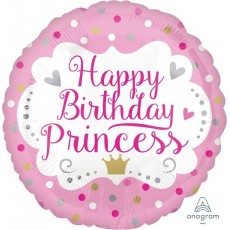 Princess Standard HX Foil Balloon