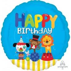 Big Top Party Decorations - Foil Balloon Standard HX Circus Fun