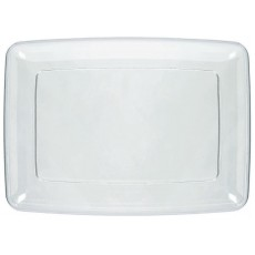 Clear Small Serving Tray