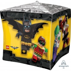 Lego Party Decorations - Shaped Balloon UltraShape Lego Batman Cubez