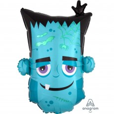 Halloween SuperShape XL Monster Head Shaped Balloon