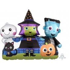 Halloween Friends SuperShape XL Shaped Balloon