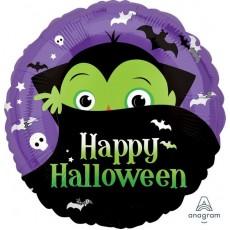 Halloween Party Supplies - Foil Balloons - Standard HX Dracula