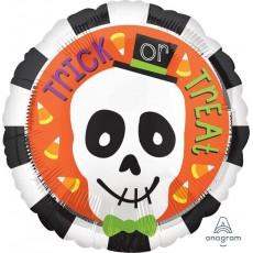 Halloween Party Supplies - Foil Balloons - Standard HX Skull