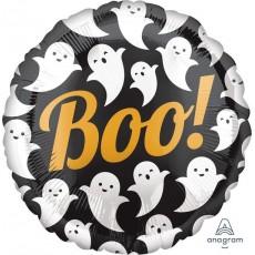 Halloween Party Supplies - Foil Balloons - Standard HX Ghosts