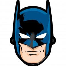 Batman Paper Party Masks Pack of 8