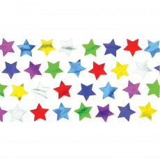 Multi Colour Mini Stars Confetti