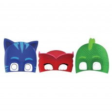 PJ Masks Party Masks 18.5cm x 24.8cm Pack of 8
