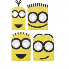 Minions Despicable Me Paper Party Masks Pack of 8
