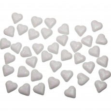 Iridescent Love Heart Table Scatters Confetti 3.5cm Pack of 40