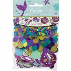 Mermaid Wishes Sequins, Foil & Paper Confetti