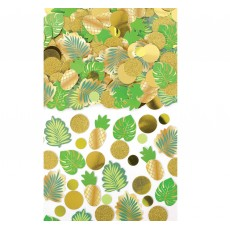 Hawaiian Luau Tropical Glittered Confetti