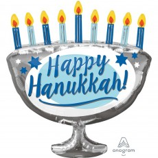 Hanukkah SuperShape XL Shaped Balloon