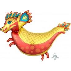 Chinese New Year Fiery Dragon Shaped Balloon