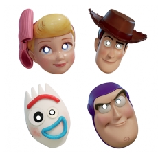 Toy Story 4 Party Masks Pack of 8