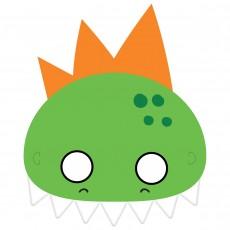 Dinosaur Party Supplies - Party Masks Dino-Mite