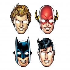Justice League Party Supplies - Party Masks Heroes Unite